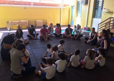 Grupo Alunos Montessori e Metrocamp