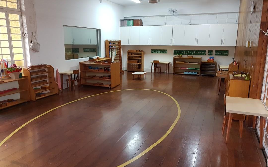 Infantile – Sala Montessori