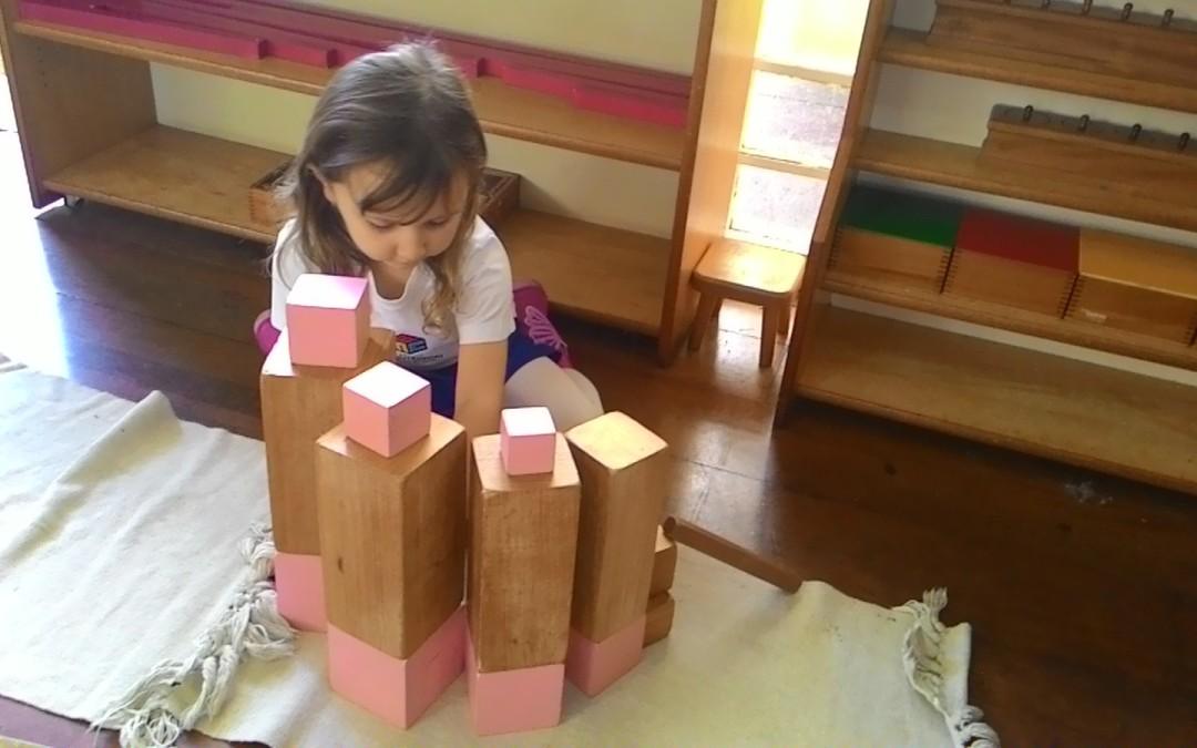 Infantile – Torre Rosa com Escada Marrom
