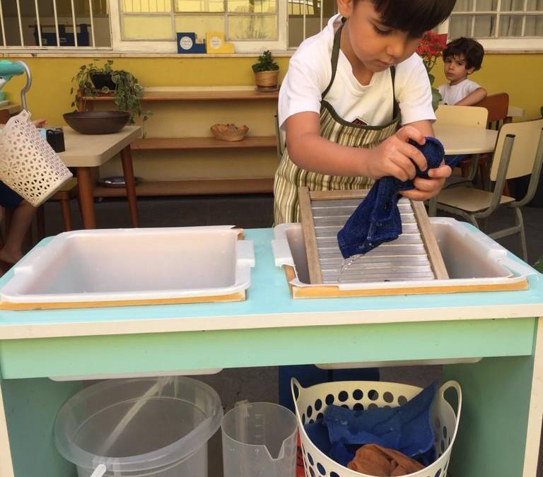 Infantile – Lavar a Roupa