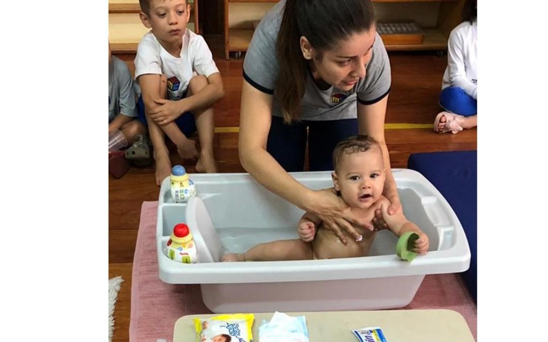 Infantile – Banho do Bebê
