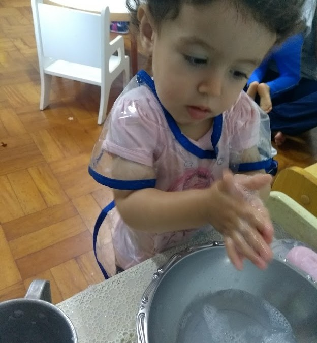 Nido e Infantile – Lavar as Mãos