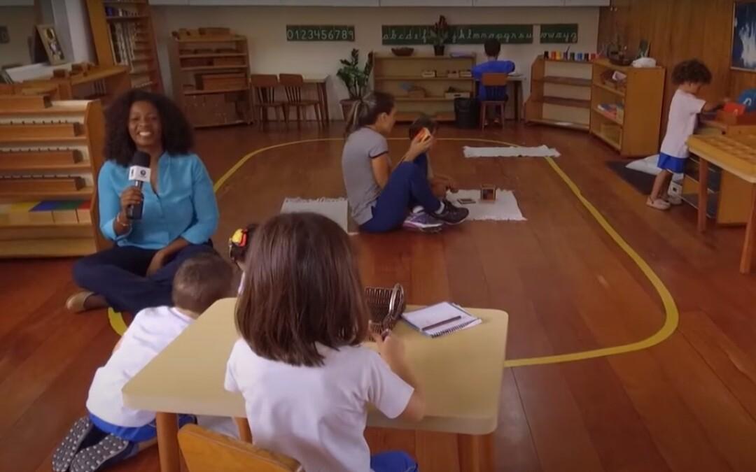 Sala de Aula Montessori