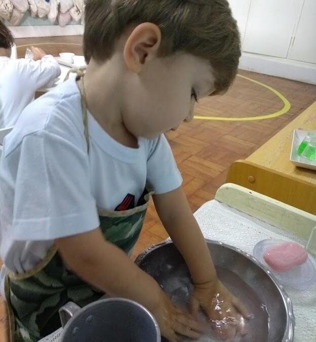 Nido – Lavar as Mãos
